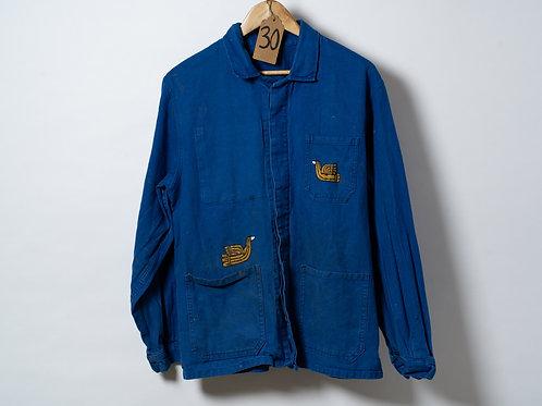 Stewart Easton Yellow Birds Blue Jacket Medium