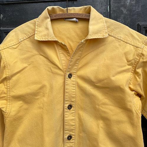 Le Glazik Yellow Overshirt Jacket