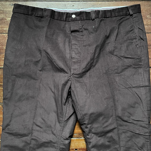 Laboureur Brown Corduroy Trousers 50W 29L