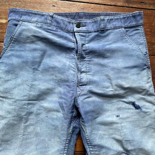Le Beaufort Faded Moleskine Trousers - 36W / 26.5L
