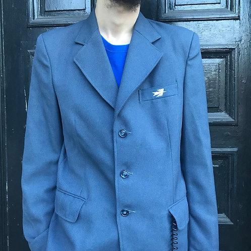 French Postman La Poste Blazer Jacket - Medium