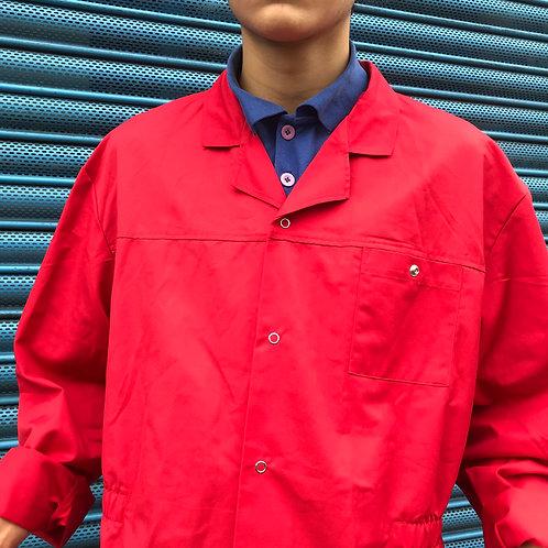 Red Petrol Attendant Jacket - L/XL & XL