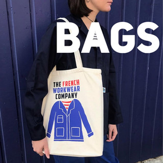 the french workwear company shopping bag