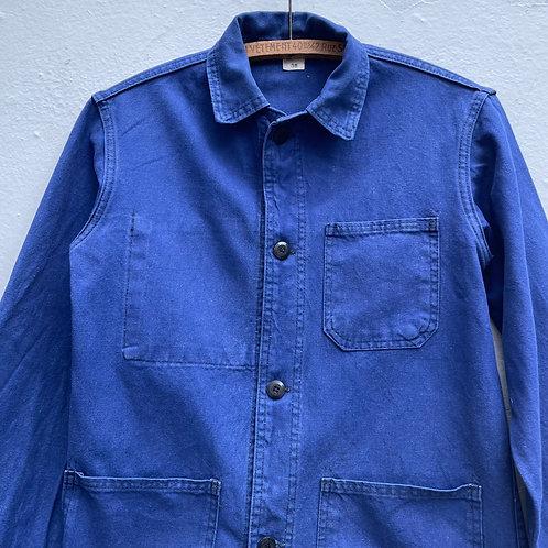 Mont Carmel Dark Blue Workwear Jacket XS UK8/10