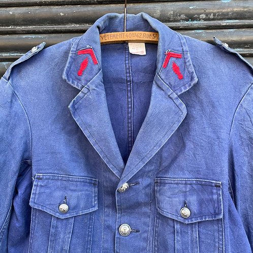 Fireman Dark Blue Jacket - S/M