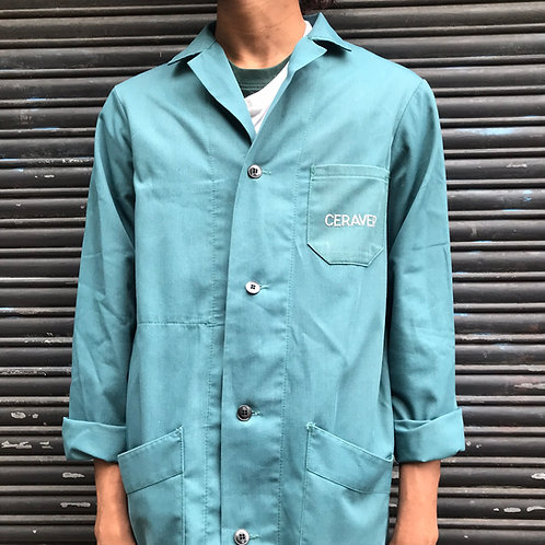 Long Green Atelier Jacket - S/M