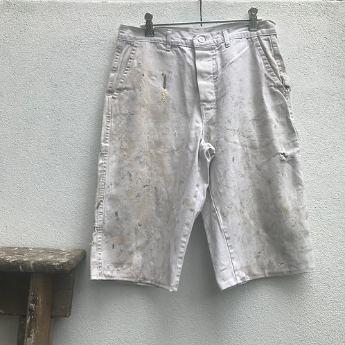 White Painter's Shorts - 28W
