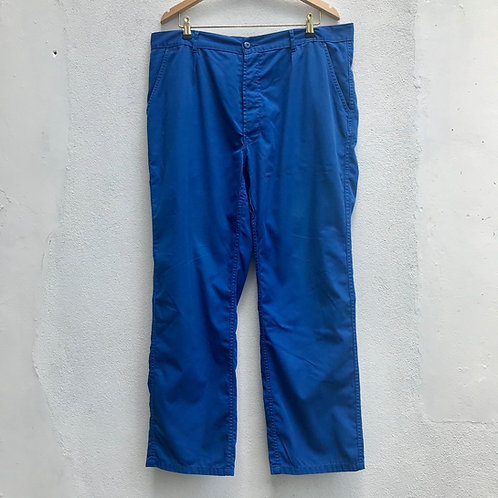 """Blue Workwear Trousers. 40"""" Waist - 29.5"""" L"""