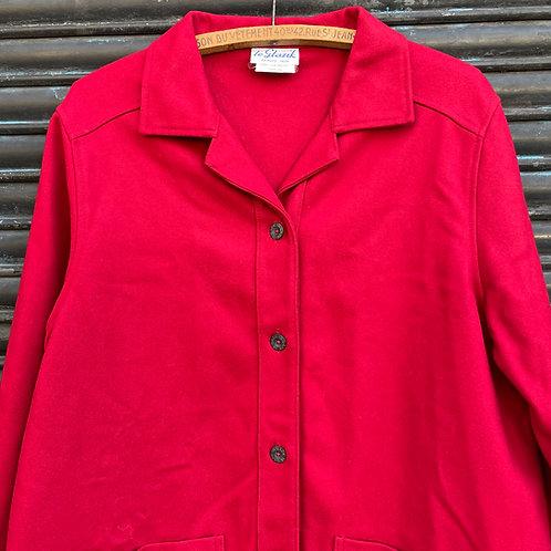 Red Le Glazik Woolen Jacket S/M