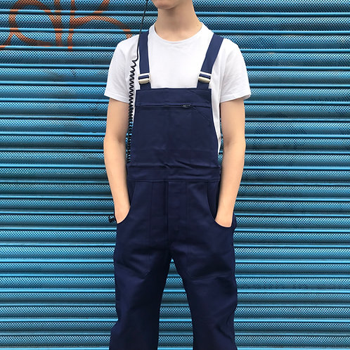 Le Laboureur Dark Blue Workwear Dungarees - Medium & Large