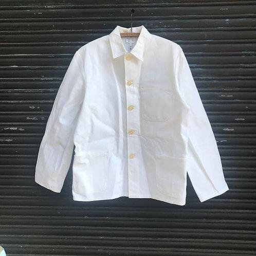 White Painter's Jacket - Large