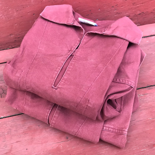 Burnt Red Fisherman's Smock - Small & XL