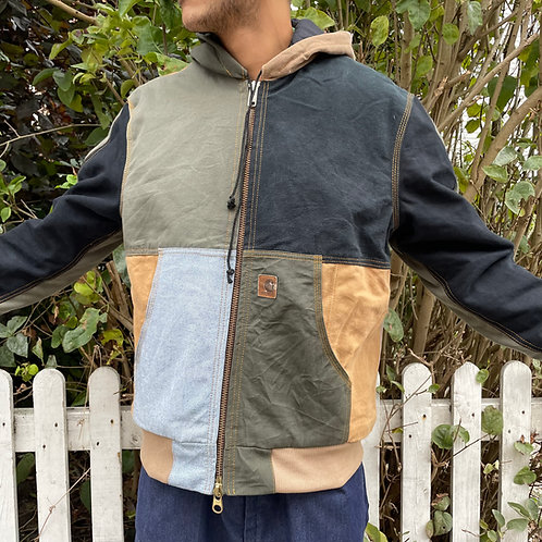 Carhartt Hooded Patched Jacket Medium