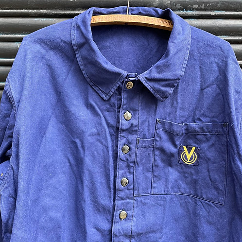 Molinel Metal Buttons Yellow V Logo Jacket - XL