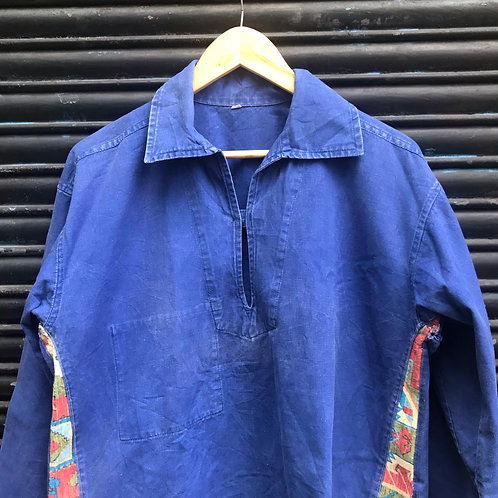 Repaired Blue Smock - Small