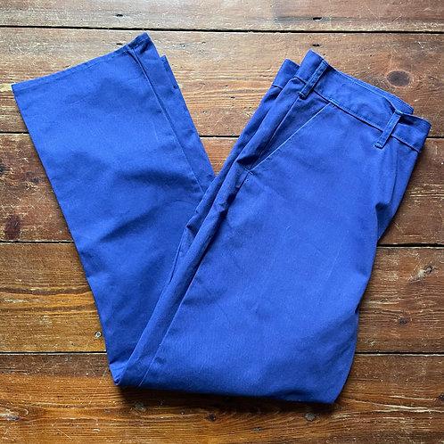Dark Blue Trousers - 36W / 30L