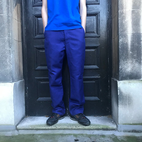 """French Workwear Vetra Trousers - 34"""" W - 31"""" L"""