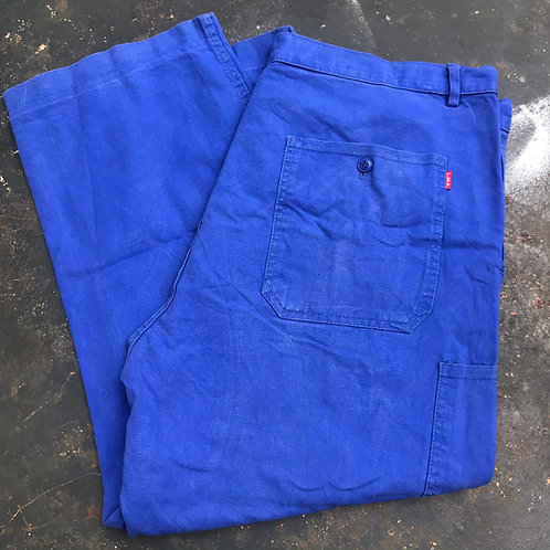 Classic Bugatti Blue Trousers. 40W - 25L