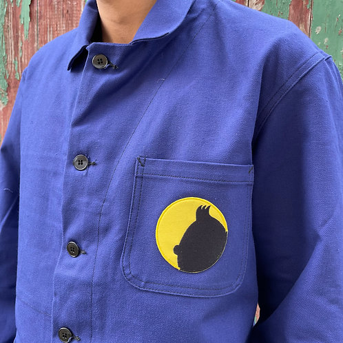 Yellow Tintin Dark Blue Jacket - L/XL