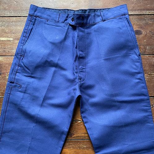 Dark Blue Trousers 34W / 32.5L