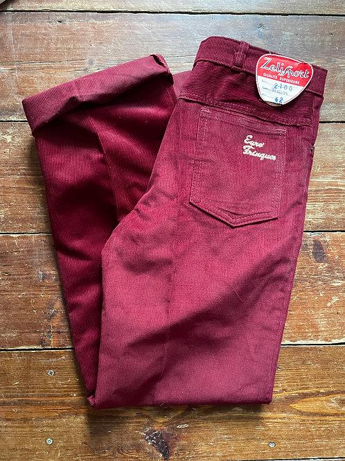 Le Laboureur Corduroy Trousers 32W / 32L