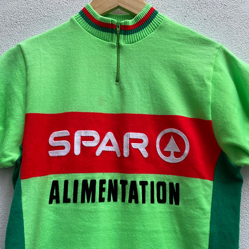 Spar Green Cycling Jersey Small