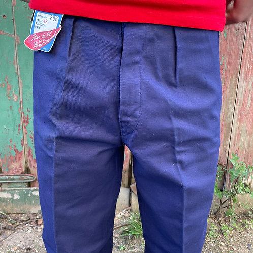 Le Mont Carmel Dark Blue Trousers 41W 30.5L