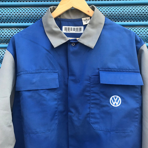 VW Blue & Grey Waisted Jacket