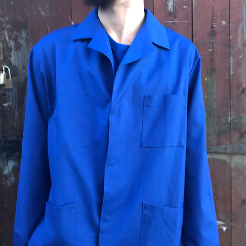 Adolphe Lafont Workwear Jacket Overshirt - Stud Buttons - Large
