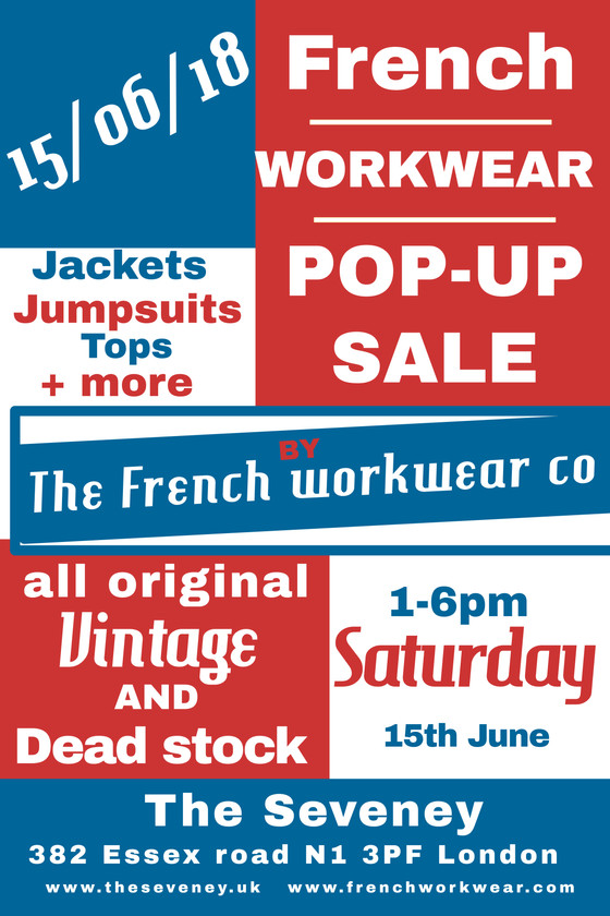 Pop up on Saturday 15 June