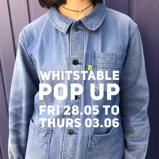 WHITSTABLE POP UP 28 MAY - 3 JUNE