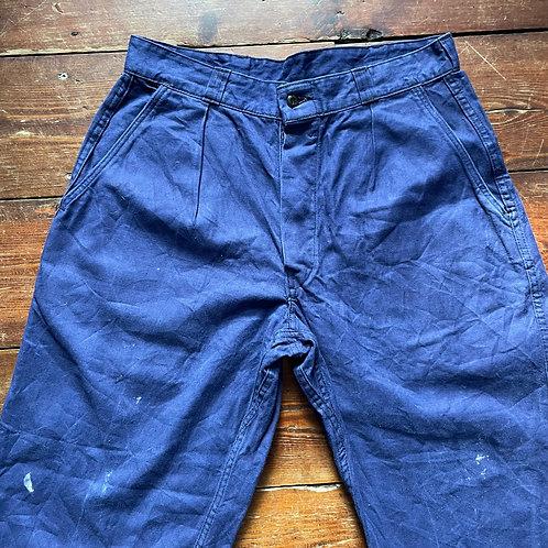 Worn Trousers 31W 28.5L