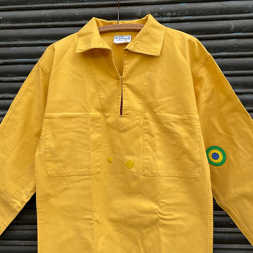Mended Le Glazik Yellow Smock - Small Size 44