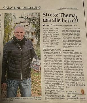 Ein Quantum Stress, Stressbewältigung, Stress abbauen, Stressoren, Stress reduzieren, Stress Symptome