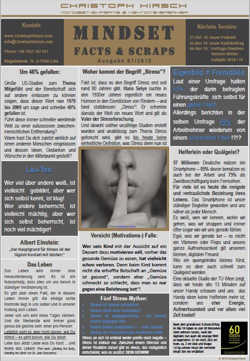Facts&Scraps Ausgabe 01/2018