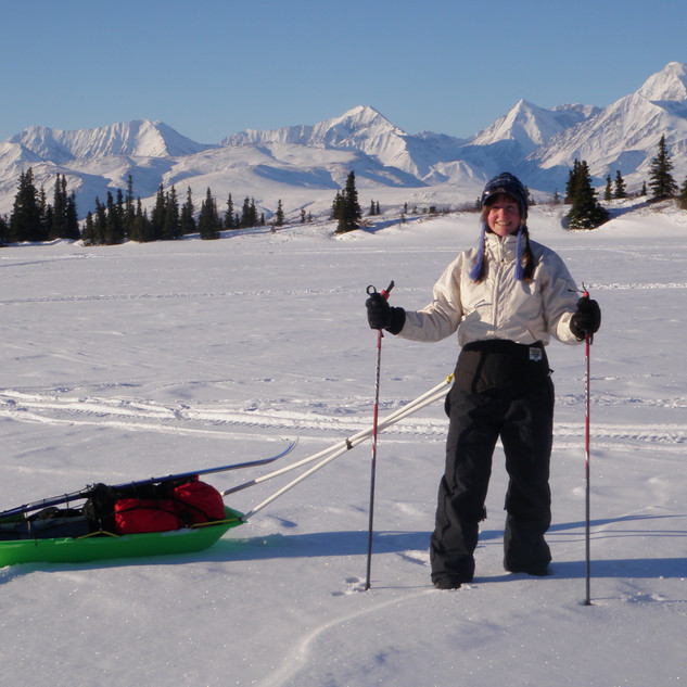 Ken's Pond ski trip- Alaska Range
