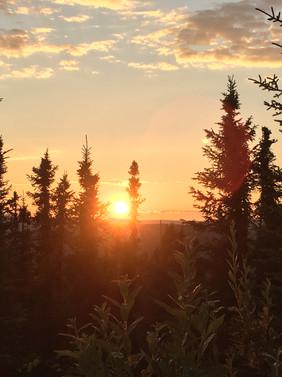 My backyard- Alaska