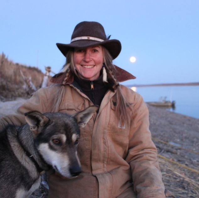 Me n Annie on Yukon River