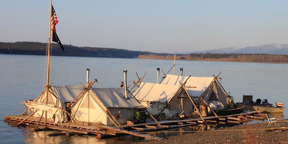 Yukon River Log Raft Campout