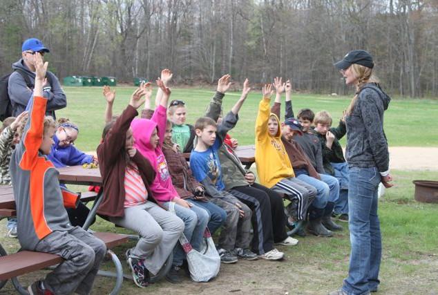 Teaching outdoor survival