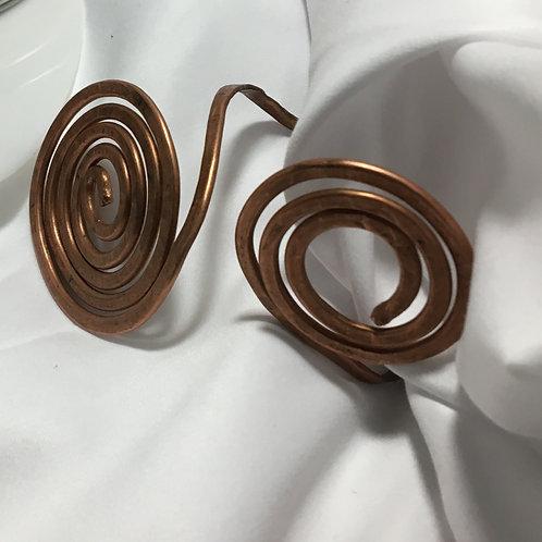copper coil bangle