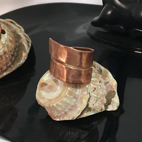 copper healix ring