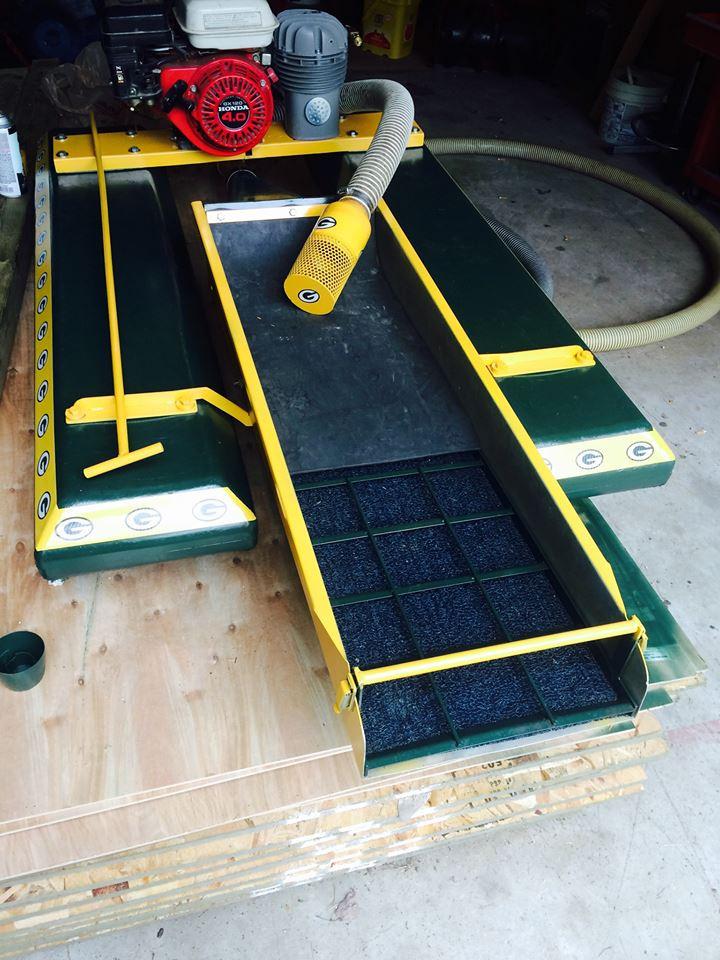 Green Bay 2.5 inch gold dredge