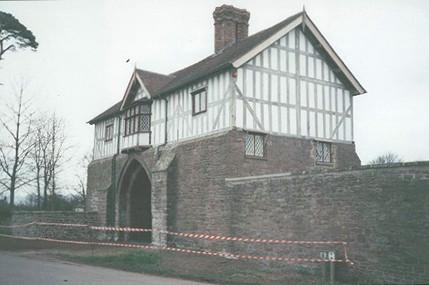The gatehouse following restoration.