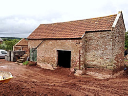This derelict barn had reached the end of its agricultural working use.