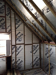 Insulation in the extension ensures that the new section of the building is as energy efficient as possible.
