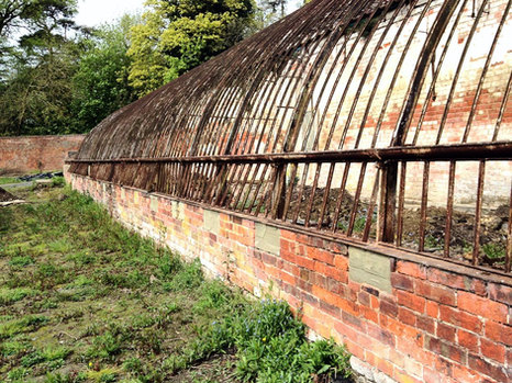 After the overgrown plants and trees had been cleared, we could get a better understanding of the building that lay underneath
