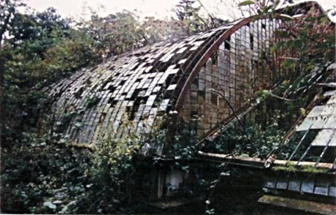 The Victorian glasshouse had been left to the elements, with the brickwork, metal frame and glass panes all needing major restoration works.