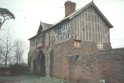 The gatehouse as it was.