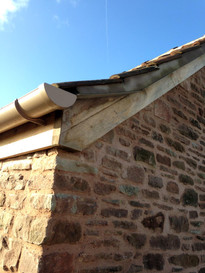 An example of pointing on a barn conversion